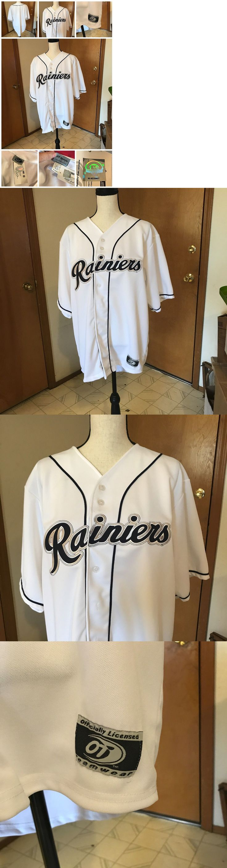 Baseball-Minors 24441: Ot Officially Licensed Minor League Baseball Jersey Tacoma Rainiers Nwt Size Xl -> BUY IT NOW ONLY: $49.99 on eBay!