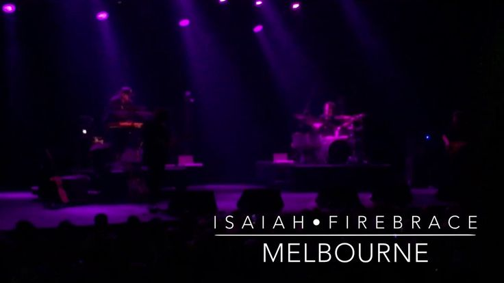 Isaiah Firebrace LIVE in Melbourne   Band Intro