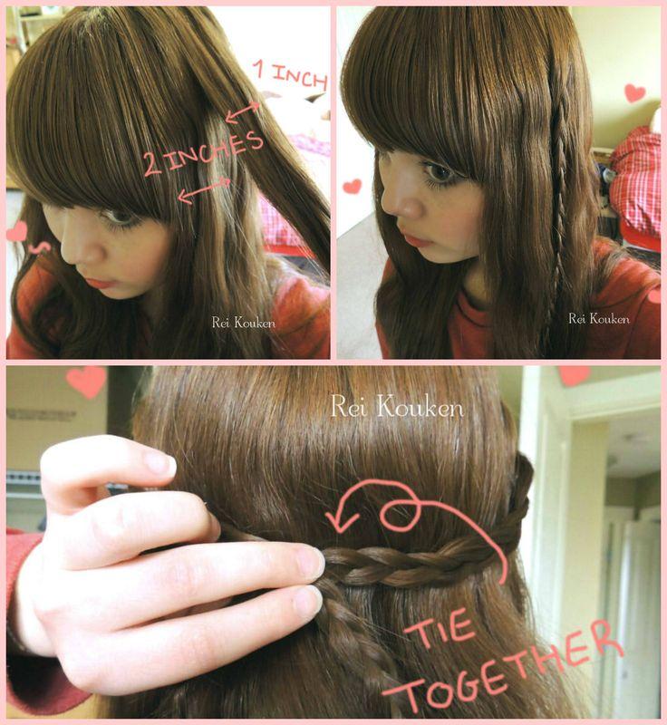 asuna hair tutorial cosplay tutorials