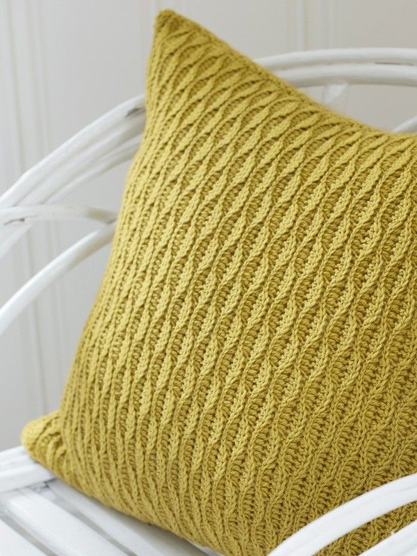 """Lounge"" strukturpute | crocheted pillow | crocheted interior | crochet pattern"