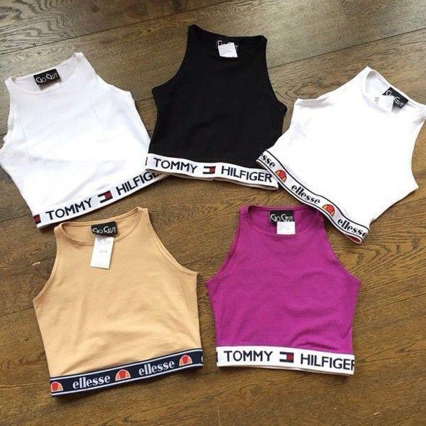 Aaliyah Tommy Hilfiger Hemd – Kaufen Sie Aaliyah Tommy Hilfiger   – Kleidung für Teenager