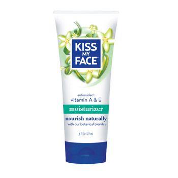 <><><> Whitelisted!  100% CRUELTY FREE! <><><>. Kiss My Face - Vitamin A & E Moisturizer