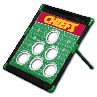 Kansas City Chiefs Football Bean Bag Toss Game