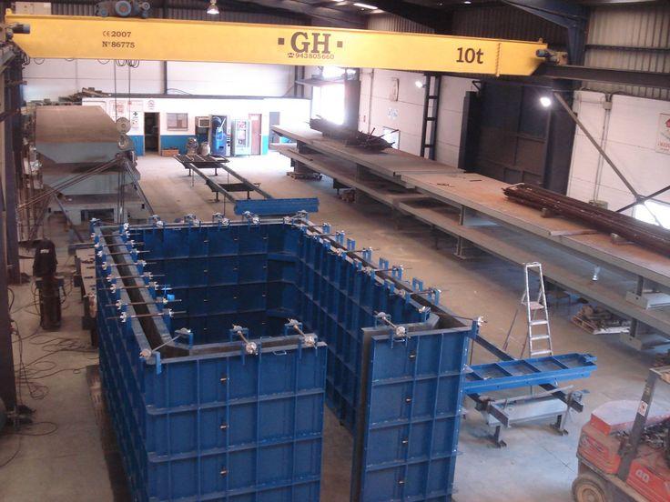 Moldtech Molde para marcos modulares wet cast - Moldtech S.L.