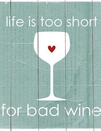Wine Philosophy Wall Decor