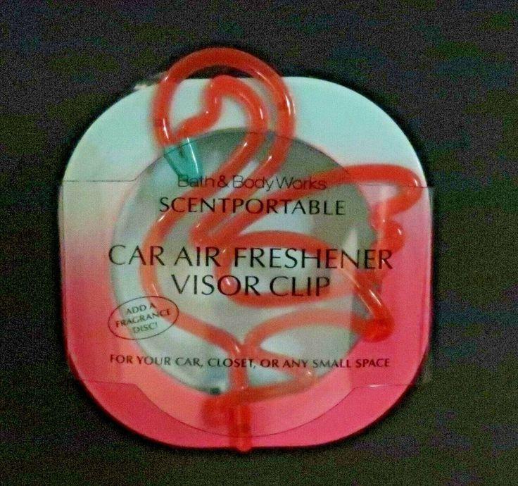 Bath and Body Works Scentportable Car Air Freshener Visor