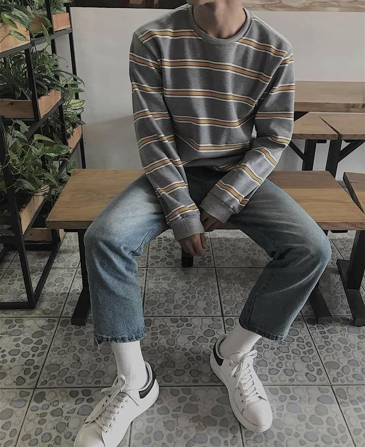 Mens Outfits, Retro Outfits, 90s Fashion Men
