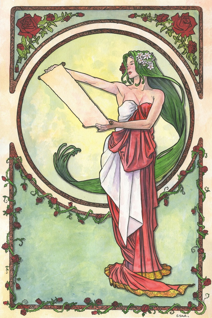 Art Deco Nouveau: 19 Best Art Nouveau Tattoos Images On Pinterest