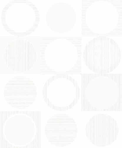 Fräck tapet med geometriskt mönster från kollektionen Kvadrat 17070. Klicka för att se fler inspirerande tapeter för ditt hem!