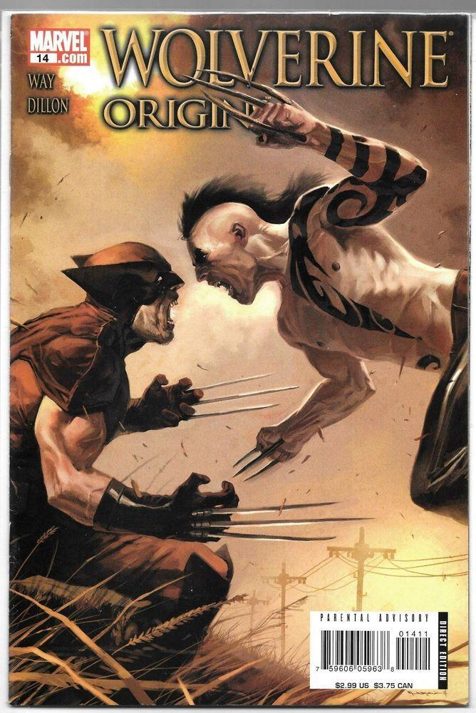 Wolverine Origins #14 Marko Djurdjevic Cover Bagged and Boarded 8.5.