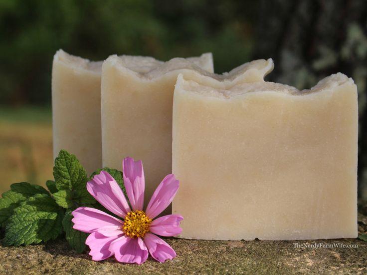 Lemon Balm Cold Process Soap Recipe