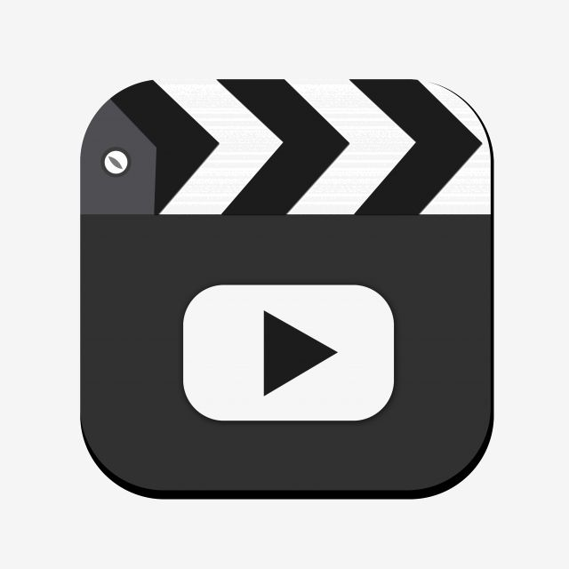 Black And White Video Play Icon Icon Video Icon Black White Icon Png Transparent Clipart Image And Psd File For Free Download Black And White Posters Black And White Black And