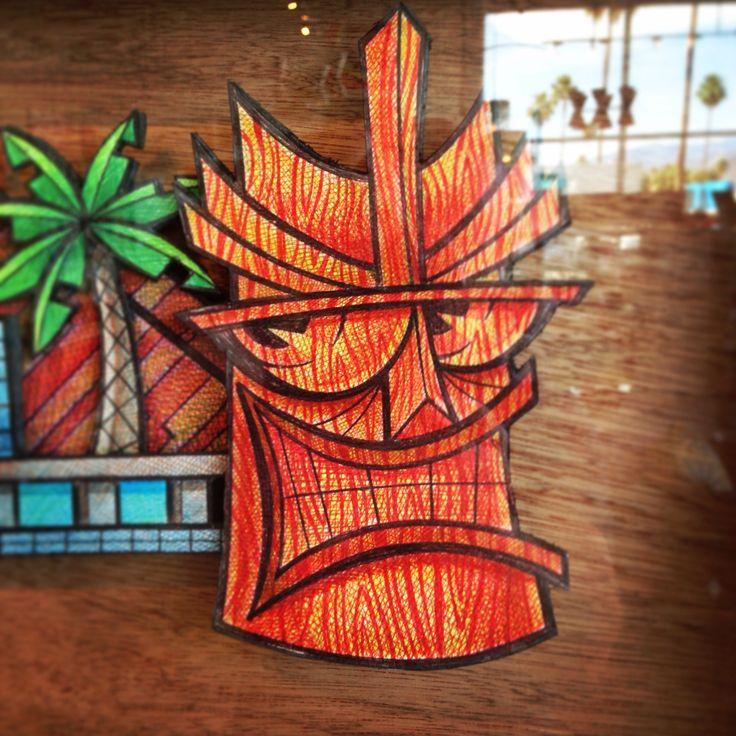 Cool Tiki art by John Murasky at Just Modern!