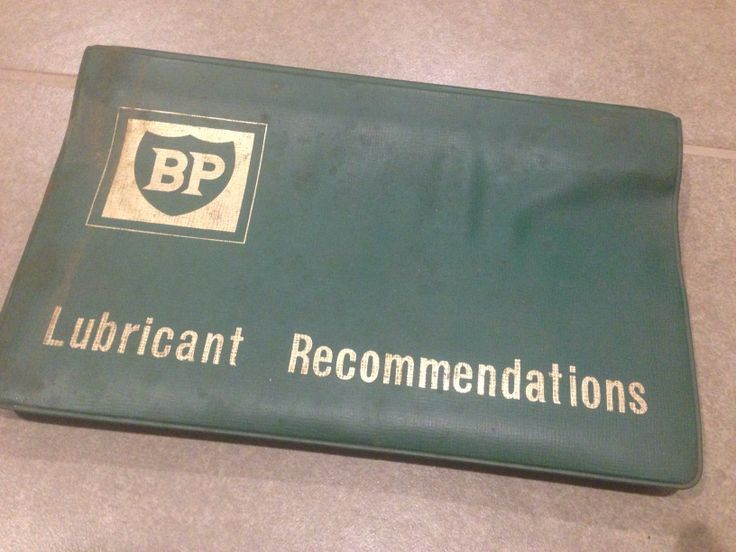 Lubricant recommendations. BP. History from family petrol station. Old currumbin BP stations on Thrower Drive. Qld.