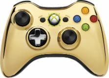 Microsoft - Special Edition Wireless Controller for Xbox 360 - Gold Chrome - 2130026 - Best Buy