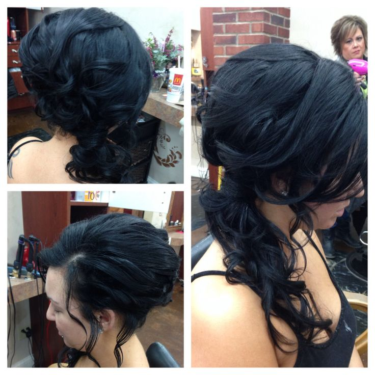 Formal hair style by Heather West @ Euphoria salon and Spa