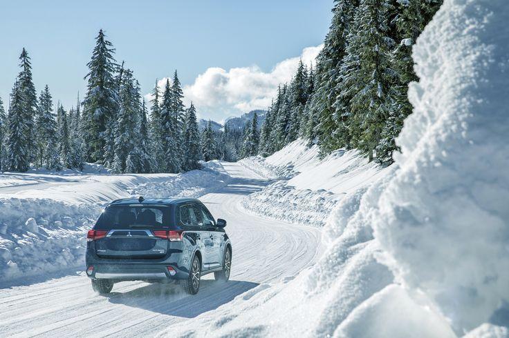Any terrain, any time. #Mitsubishi #Outlander