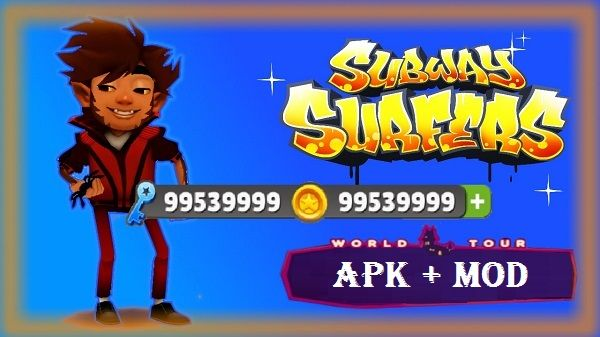 Subway Surfers Apk Mod Unlimited Money Coins Keys Download  Subway Surfers Mod Money Coin Unlimited Apk Android games form webs. Latest version Subway Surfers Unlimited Coins and Keys Android Games.  Subway Surfers an incredibly beautiful and exciting game that anxiety and excitement you will feel it completely! In this game your hands and touch screen... http://freenetdownload.com/subway-surfers-apk-mod-unlimited-money-coins-keys-download/