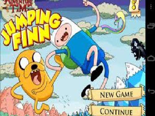 Friv4 Games Adventure Time Jumping Finn