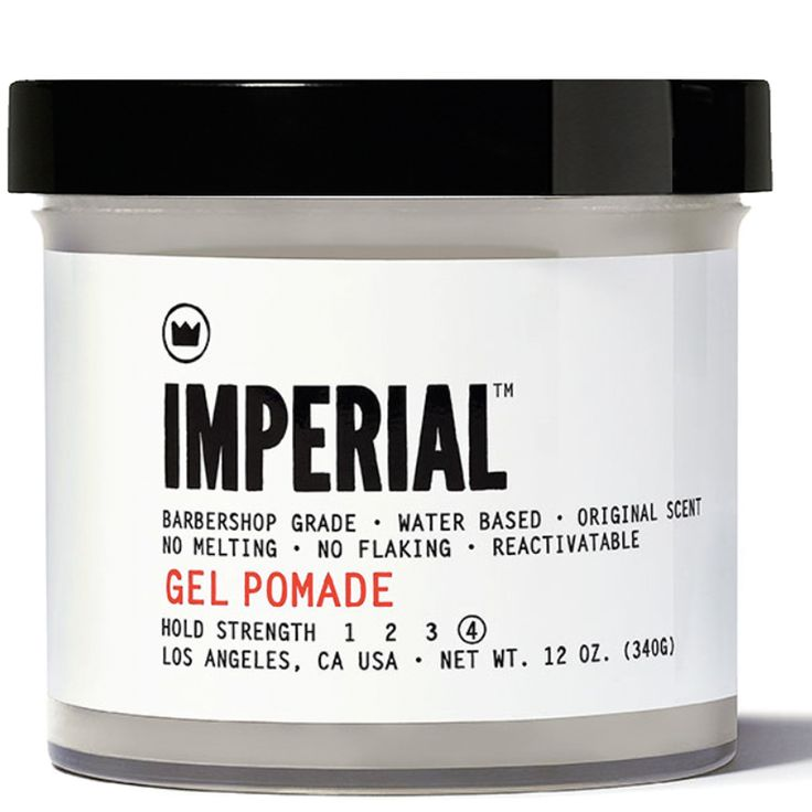 Gel Pomade *Goes on Light—Dries Tight* Restock imperialbarberproducts,com
