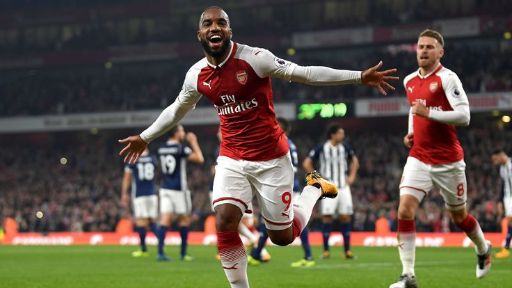 Liga Primer Inggris: Arsenal 2 - 0 West Bromwich Albion