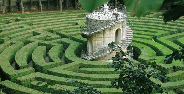labirinto valsanzibio   Il labirinto del giardino Barbarigo a Valsanzibio di Galzignano ...