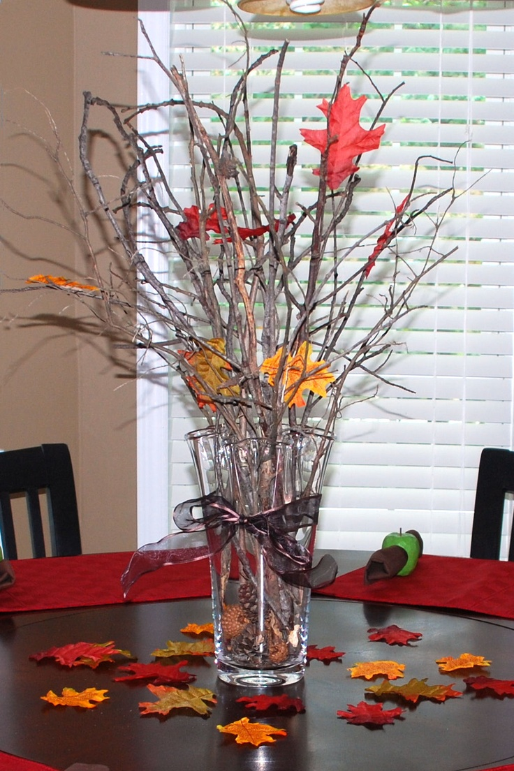 39 best decorating with twigs and branches images on for Twig decorations home