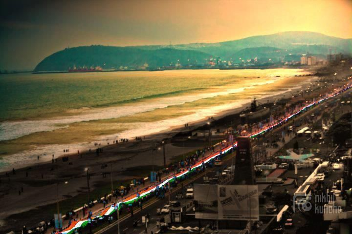 Rainy season has arrived so is the Lure of Vizag or Visakhapatnam which is Tourism location with High Mountains facing the Beautiful Sea Beach situated very near Araku Valley which is Hill station.