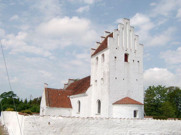 Bakkendrup Church, Bakkendrup kirke, Gørlev, Denmark. Photo: Kurt Thorleif Jensen.