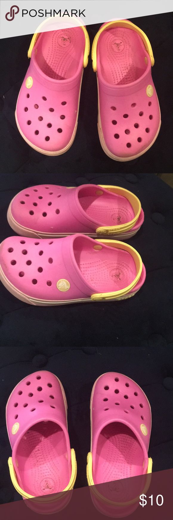 Size 10 Toddler Pink Crocs Pink Size 10 Crocs Shoes Sandals & Flip Flops