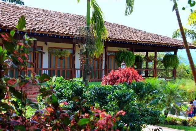 Hermosa finca del eje cafetero. Este espacio de paz y color es la Foto del Día EnMiColombia.com