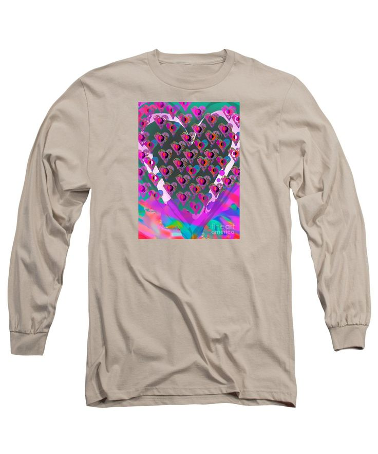 Purchase a long-sleeve t-shirt featuring the image of Punk Love  by Expressionistart studio Priscilla Batzell.  Available in sizes S - XXL.  Each t-shirt is printed on-demand, ships within 1 - 2 business days, and comes with a 30-day money-back guarantee.