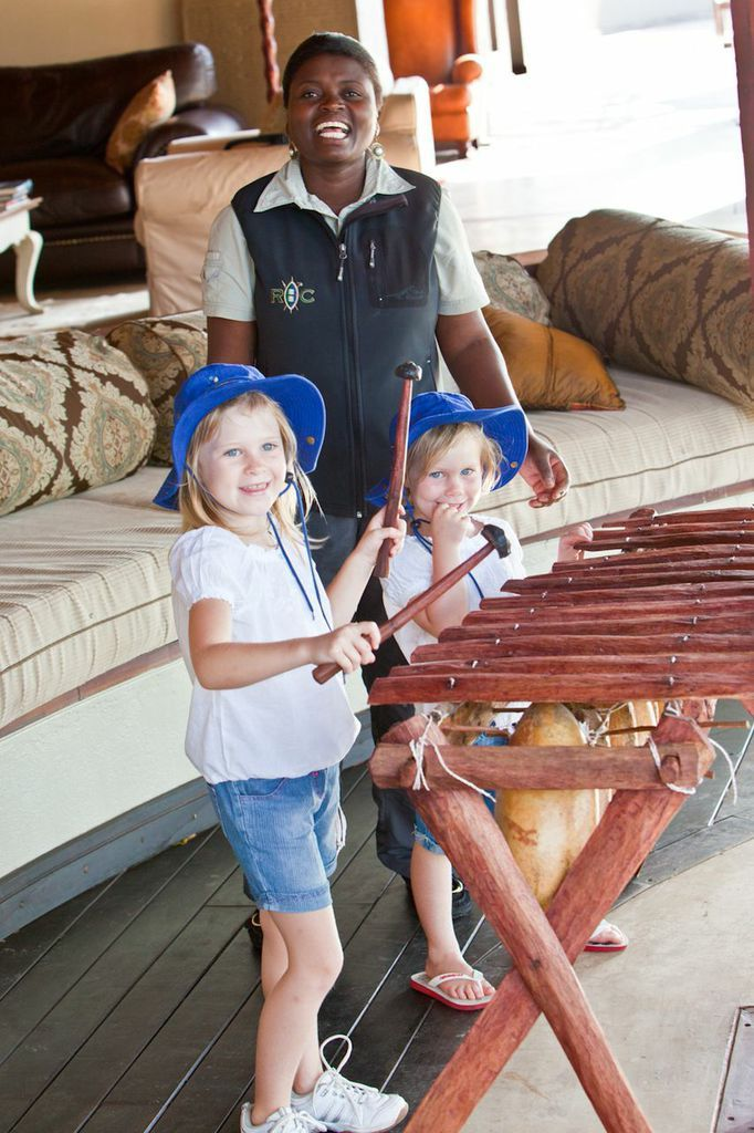 Learning to play the Marimbas