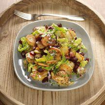 Bratkartoffelsalat mit Roter Bete