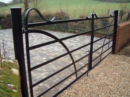 blacksmith victorian farm gates