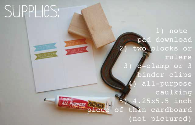 DIY-note-pad-teacher-gift- two different kinds to print