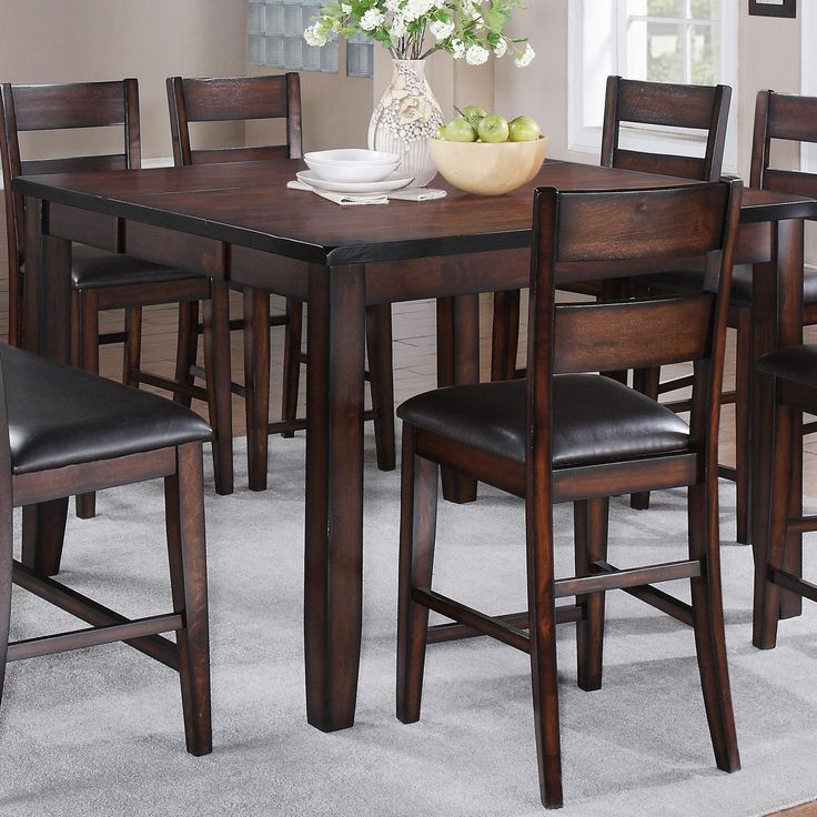 Shop For The Crown Mark Maldives Counter Height Table At Miskelly Furniture