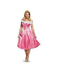 Adult Aurora Costume Deluxe - Sleeping Beauty