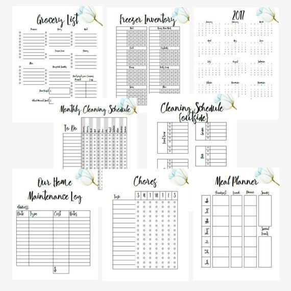 Start a Family Binder to get your get more organized. This Custom Binder Printables help keep everything in one place where you and reference and keep your home running more seamlessly. Perfect for Busy Moms to keep organized and help with delegating tasks. Flower theme throughout.