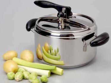 Tempi di cottura in pentola a pressione - Quanta acqua | Alimentipedia: enciclopedia degli alimenti