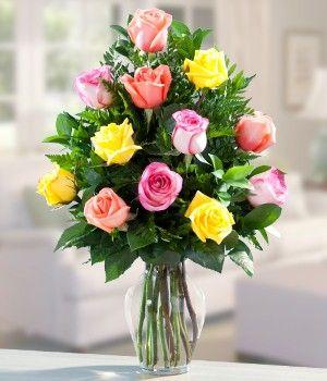 Rosas Surtidas para Mamá