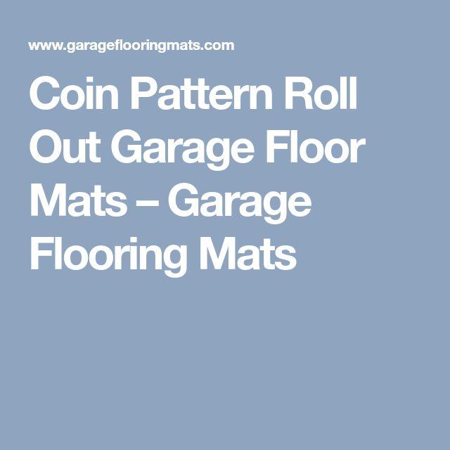 Coin Pattern Roll Out Garage Floor Mats – Garage Flooring Mats