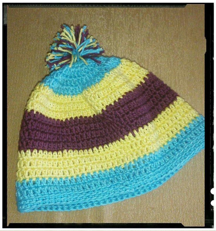 Baby Hat Crochet 8-12 months