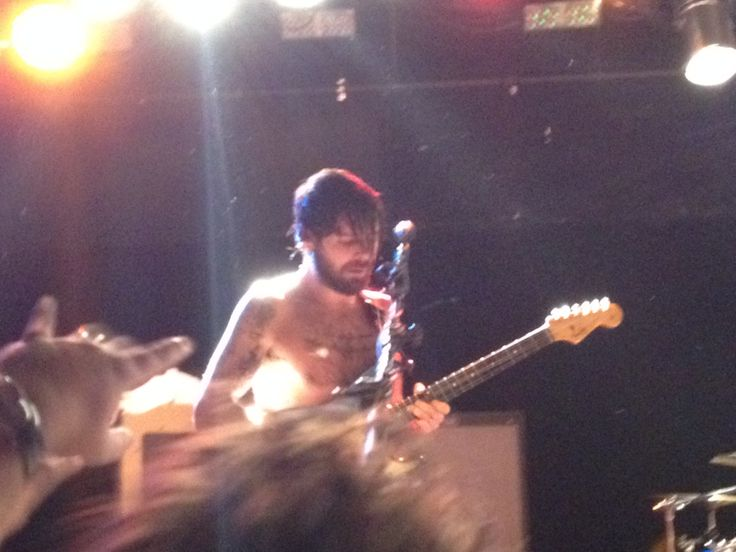 Simon Neil. Live at the Bottom Lounge in Chicago. 6th October 2013