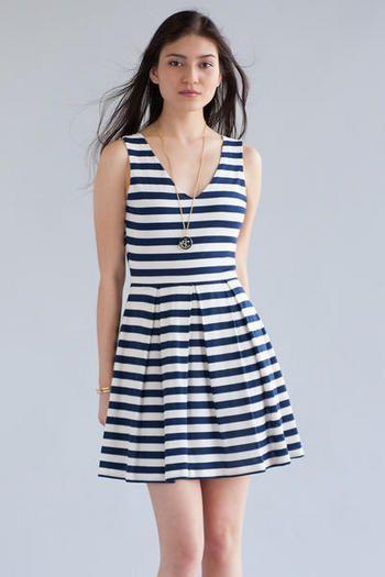 Gulfton striped dress Francesca's | Womens Clothing Stores & Online Boutique #francescas