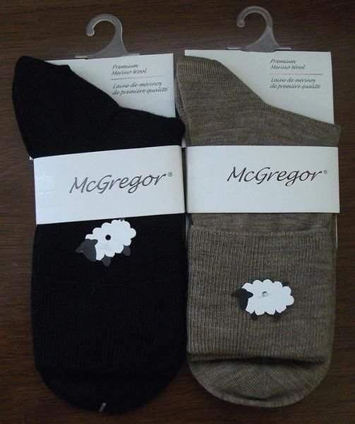 Premium Merino wool socks for softness and breathability from McGregor Socks Natural moisture management for dry and confortable feet