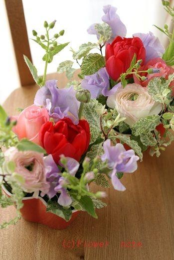 『【ホワイトデー】プチサイズが可愛い!』 http://ameblo.jp/flower-note/entry-11181449937.html
