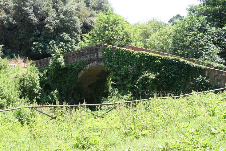 ponte romano nella valle del Sambuco