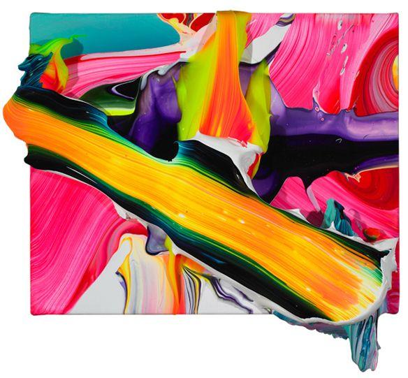 The art of acrylics... Yago Hortal