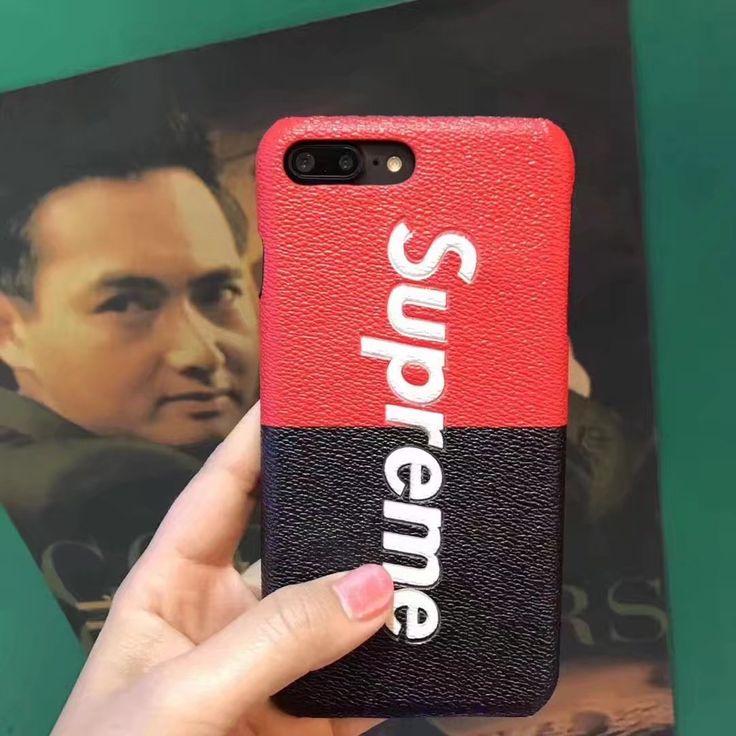 【iPhone7/7 Plus用】Supremeケースの人気おすすめ、赤いラインに白地のロゴが特徴、シュプリーム「supreme」ブランド携帯カバー続々入荷中!海外限定モデルなど豊富。
